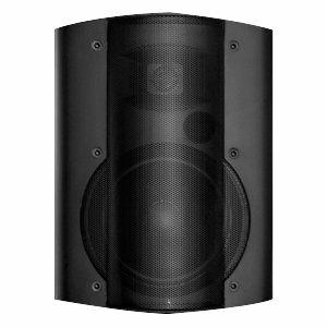 OWI P8378P 3-way Indoor/Outdoor Wall Mountable, Ceiling Mountable Speaker - 40 W RMS - Black
