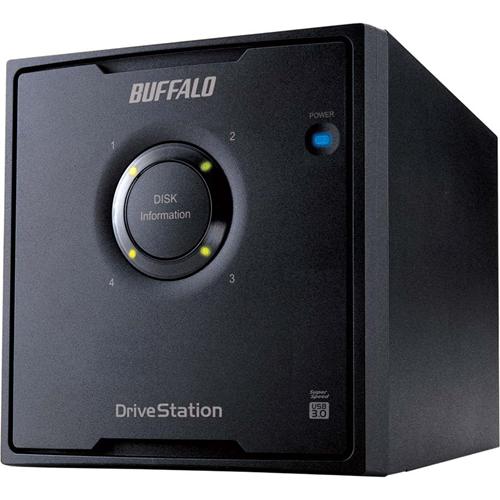 DRIVESTATION QUAD NAS 16TB   4X4TB SATA RAID 0/1/5 USB 3