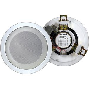Bogen SEC4T In-ceiling Speaker - 4 W RMS - White