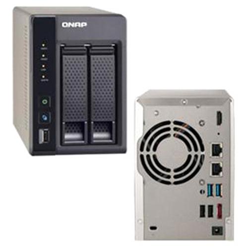 QNAP NAS TS-269L-US 2Bay iSCSI SATA Intel Atom 2.13GHz 1GB-3GB Retail
