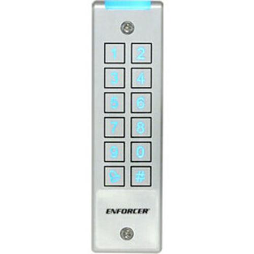 Enforcer Mullion-Style Piezoelectric Outdoor Digital Access Keypad