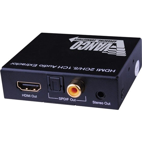 HDMI DIG/ANALOG AUDIOEXTRACTOR
