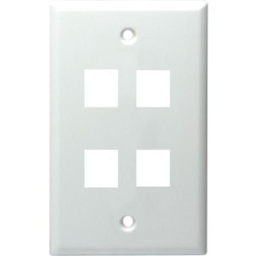 DataComm Keystone Standard Wall Plate