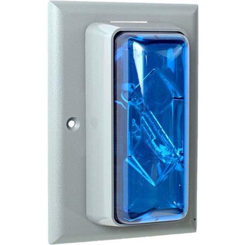 STROBE FLUSH MOUNT 120 VOLT BLUE