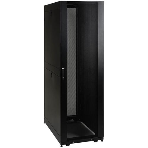 "Tripp Lite 42U Rack Enclosure 36"" Depth w Doors & Sides 3000lb Capacity"