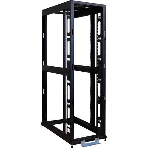 """Tripp Lite 42U 4-Post Open Frame Rack Cabinet 36"""" Depth No Sides or Doors"""