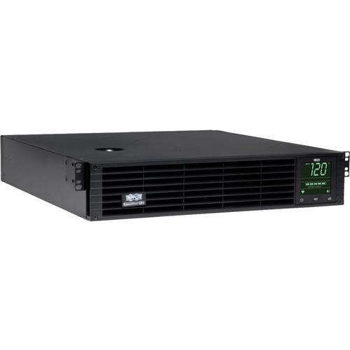 Tripp Lite UPS Smart 3000VA 2250W Rackmount AVR 120V Preinstalled WEBCARDLX Pure Sign Wave USB DB9 2URM