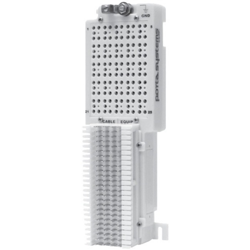 25 PAIR PROTECTOR PCK; 66 IN/OUT TERMINATION