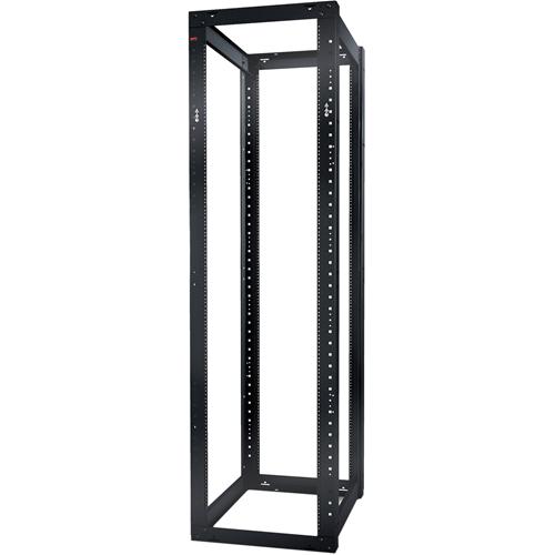 Schneider Electric NetShelter 4 Post Open Frame Rack 44U #12-24 Threaded Holes