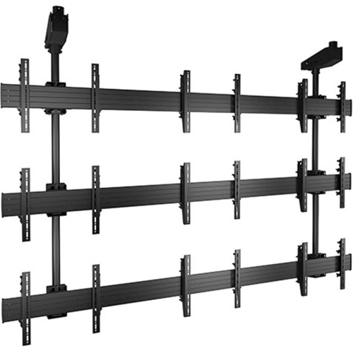 FUSION™ Micro-Adjustable Large Ceiling Mounted 3 X 3 Video Wall Solutions