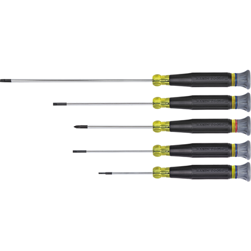 Klein Tools 5-Piece Electronics Screwdriver Set