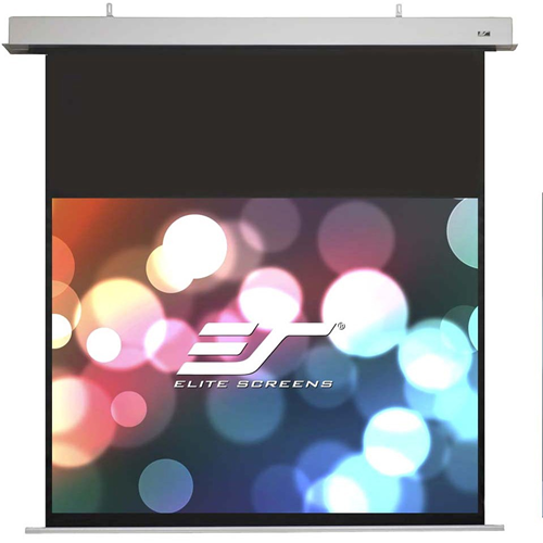 Evanesce Electric MaxWhite FG Projection Screen - 120 16:10 AR