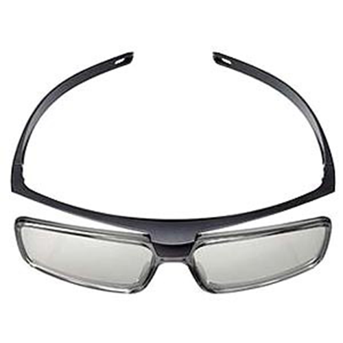 3d Passive Glasses-Blk