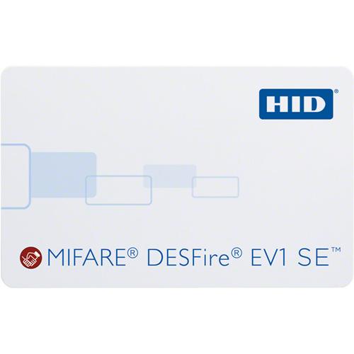 MIFARE/DESFIRE EV1 SE,PROG,F-GLS,B-GLS,MTCH,NO SLT