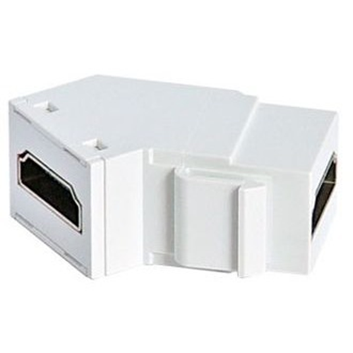 HDMI KEYSTONE INSERT IN WHITE