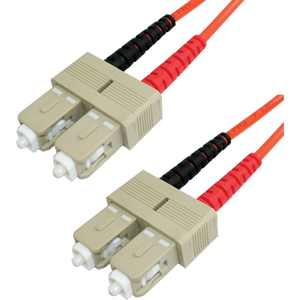 Lynn Electronics 1 Meter SC/SC 62.5/125 Duplex Patch Cord