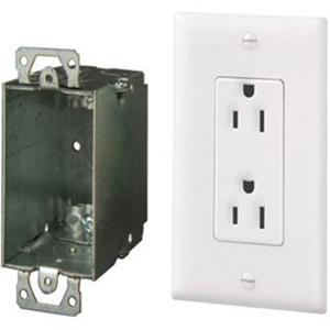 On-Q Surge Protected Duplex Power Kit