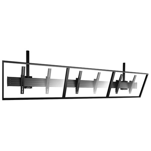 Chief FUSION LCM3X1U Ceiling Mount for Flat Panel Display - Black