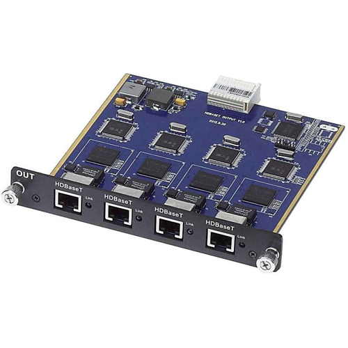 HDBASE-T 4-CHANNEL OUTPUT CARD