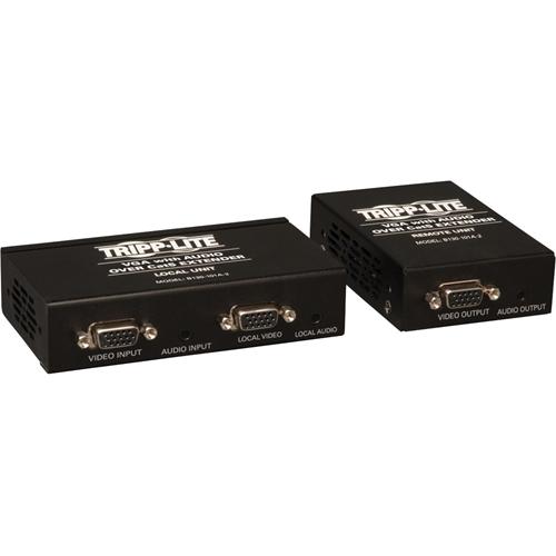 Tripp Lite VGA & Audio over Cat5/Cat6 Video Extender Kit Transmitter Receiver TAA GSA
