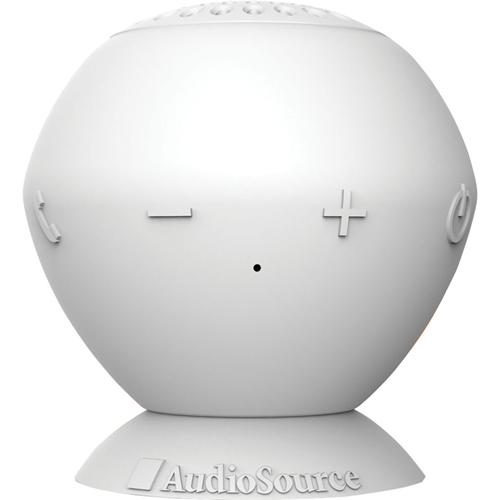 AudioSource SoundPop Bluetooth Speaker , White