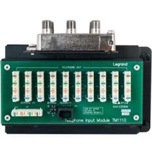 Legrand-On-Q 10x8 Combo Module IDC with RJ31X
