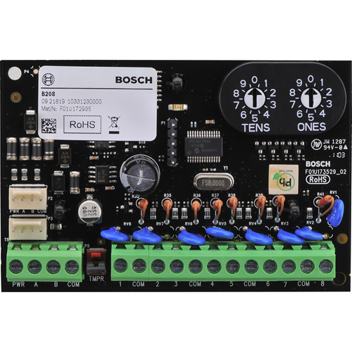Bosch B208 Octo-Input Module - For Control Panel