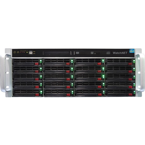INDUSTRIAL GRADE SERVER 4U RACK 20 BAY CORE I-7 8GB RAM 2TB HDD ENT