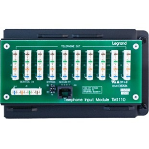 Legrand-On-Q 10-way IDC Telephone Module with RJ31X