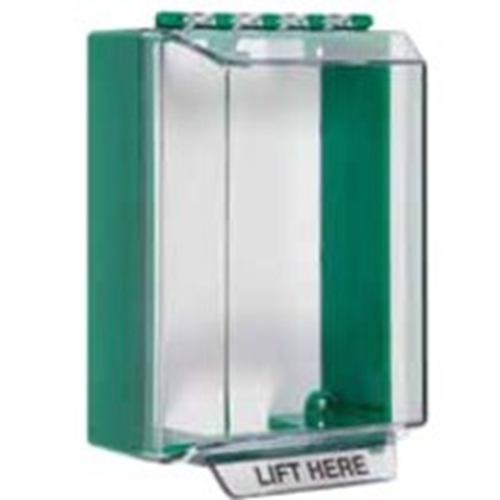 GREEN UNIVERSAL STOPPER/HRN/BACKBOX NO LABEL