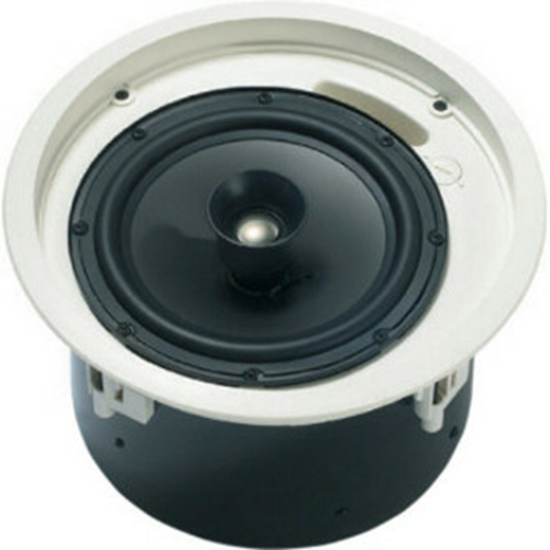PREMIUM CEILING LOUDSPEAKER 30W 8IN COAX LOW PROFILE INCL GRILLE