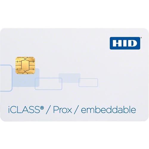 ICLASS PROX COMP EMBED 16K PROG F/B GLOSSY MATCH ICLASS 125K #