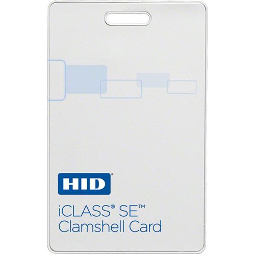 ICLASS CLAMSHELL SE PROG ICLASS F-GLOSS B-HID LOGO ICLASS VERT