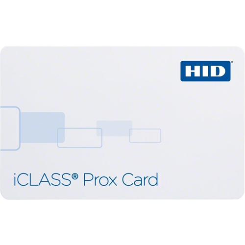 HID iCLASS Prox Card