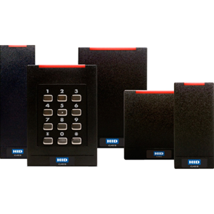 RDR R40 ICLASS SE E LF OFF HF  STD/SIO/SEOS WIEG PIG BLK STD LED