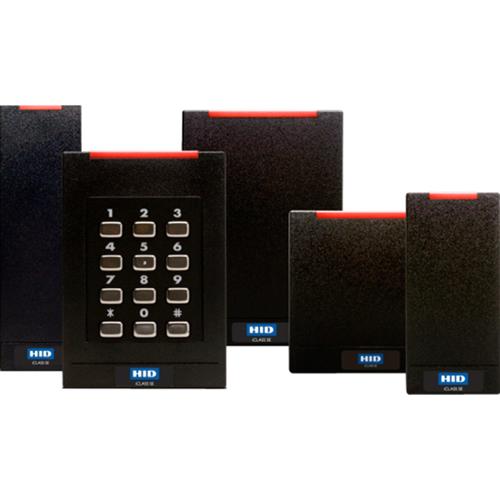 RDR R15 ICLASS SE E LF OFF HF  STD/SIO/SEOS WIEG PIG BLK STD LED