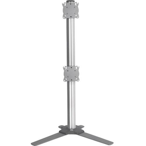 ADJ ARRAY DUAL (1X2) TABLE STAND, SLV
