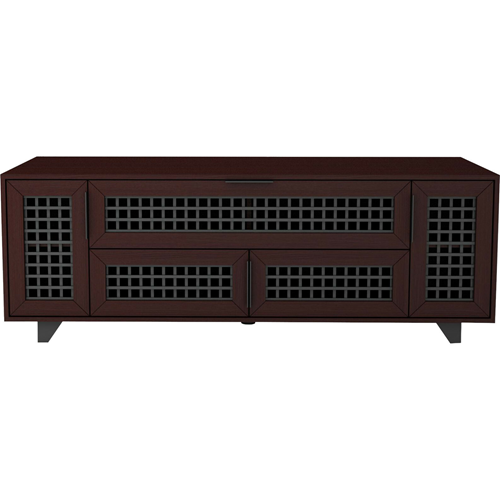 63IN VIDEO CABINET TRILLIUM   COLLECTION WALNUT