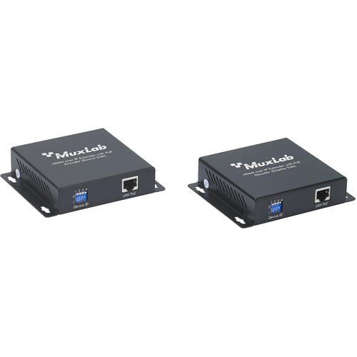 MuxLab HDMI Over IP Decoder with PoE