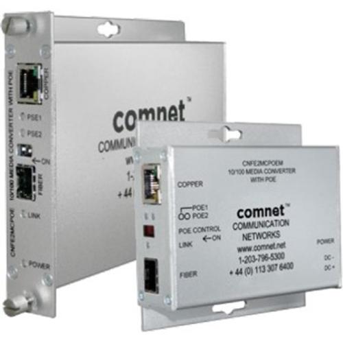 ComNet Mini 10/100 Mbps Ethernet Media Conveter with PoE