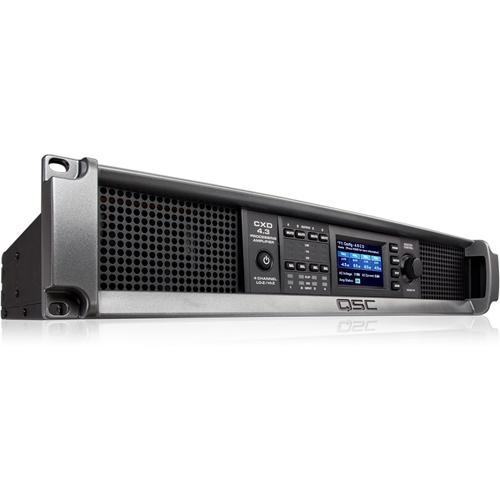 QSC CXD4.3 Amplifier - 2500 W RMS - 4 Channel