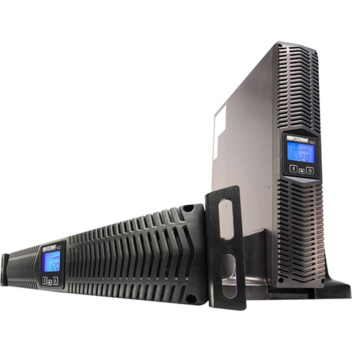 Minuteman 1000 VA Line Interactive Rack/Wall/Tower UPS with 8 Outlets
