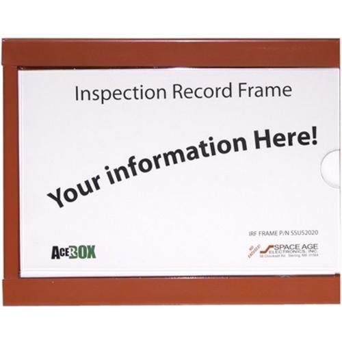 SAE Inspection Record Frame