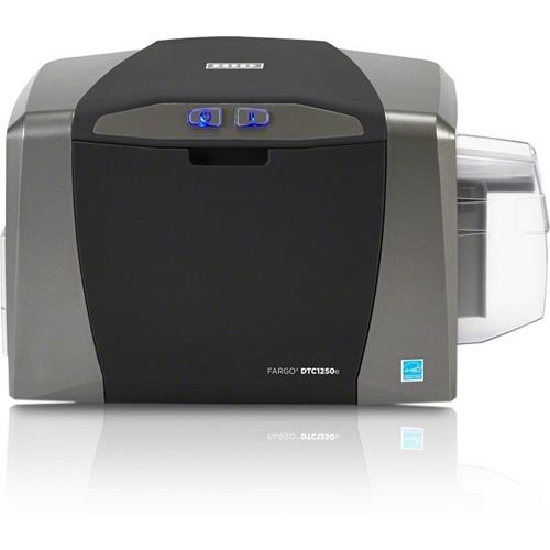 Fargo DTC1250e Double Sided Dye Sublimation/Thermal Transfer Printer - Color - Desktop - Card Print