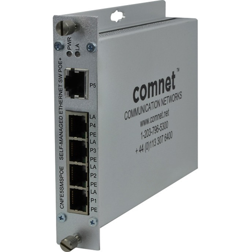 ComNet 10/100TX 5TX Ethernet Self-Managed Switch