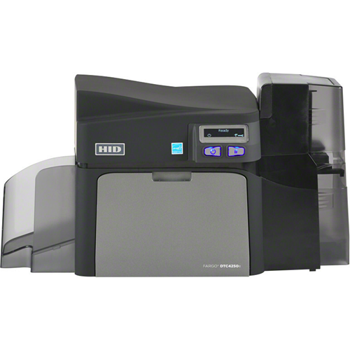 Fargo DTC4250e Single Sided Dye Sublimation/Thermal Transfer Printer - Color - Desktop - Card Print