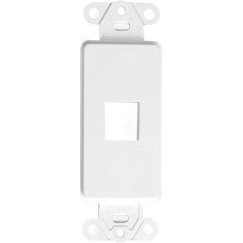 Decora QuickPort Insert, 1-Port, White