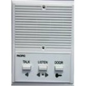 Lee Dan Pacific Electronics 3-Wire Plastic Apartment Replacement Intercom Station