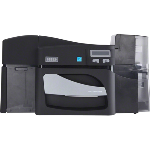 Fargo DTC4500E Double Sided Dye Sublimation/Thermal Transfer Printer - Colour - Desktop - Card Print