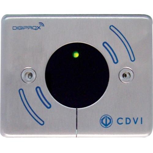 CDVI DGLI-MWLC Standard MIFARE Reader, Stainless